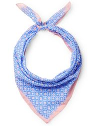 Anderson & Sheppard - Printed Cotton Scarf - Lyst
