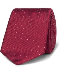 Paul Smith - 6cm Pin-dot Silk-faille Tie - Lyst