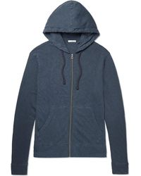 James Perse - Loopback Supima Cotton-jersey Zip-up Hoodie - Lyst