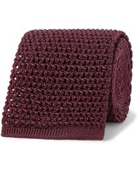 Tom Ford - 7.5cm Knitted Silk Tie - Lyst