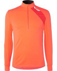 Soar Running - Mid-temperature Half-zip Stretch-jersey Top - Lyst
