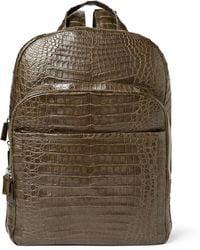 Santiago Gonzalez | Crocodile Backpack | Lyst