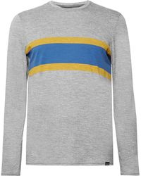 Patagonia - Slim-fit Striped Capilene Jersey T-shirt - Lyst