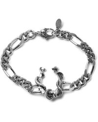 Alexander McQueen - Silver-tone Chain Bracelet - Lyst