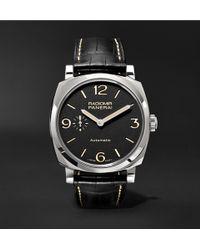 Officine Panerai | Radiomir 1940 3 Days Automatic Titanio 42mm Stainless Steel And Alligator Watch | Lyst
