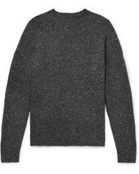Alex Mill - Mélange Wool-blend Sweater - Lyst