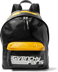 Givenchy - Logo-print Leather Backpack - Lyst