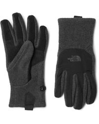 The North Face - Denali Etip Panelled Gloves - Lyst