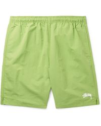 Stussy - Stock Water Slim-fit Shell Shorts - Lyst
