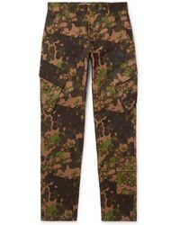 4e5d8e8e764b Off-White c o Virgil Abloh Parachute Cargo Pants in Black for Men - Lyst