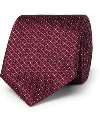 Canali - 8cm Silk-jacquard Tie - Lyst