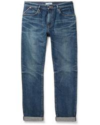 Nonnative - Dweller Slim-fit Selvedge Denim Jeans - Lyst