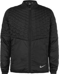 Nike - Aeroloft Perforated Quilted Shell Jacket - Lyst