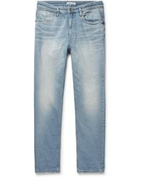 Nonnative - Dweller Slim-fit Denim Jeans - Lyst