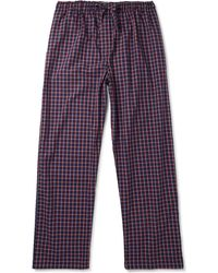 Derek Rose - Checked Cotton Pyjama Trousers - Lyst