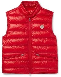 Moncler | Gui Quilted Shell Down Gilet | Lyst