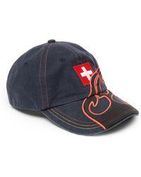 Vetements - Reebok Embroidered Appliquéd Cotton-twill Baseball Cap - Lyst