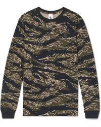 Nike - Lab Camouflage-print Cotton-jersey T-shirt - Lyst