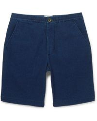 Oliver Spencer - Cotton-jersey Drawstring Shorts - Lyst