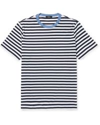 Broken Stripe Cotton-jacquard T-shirt Paul Smith Low Shipping Cheap Price Free Shipping Exclusive Clearance Exclusive wB3wVG9