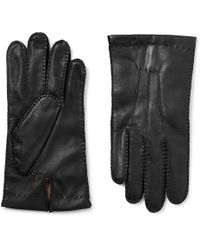 Dents - Shaftesbury Touchscreen Cashmere-lined Leather Gloves - Lyst