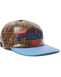 Fendi - Mania Baseball Hat - Lyst