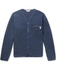 Battenwear - Polartec Fleece Zip-up Cardigan - Lyst
