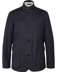 Loro Piana - Roadster Storm System Stretch Wool-blend Jacket - Lyst