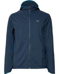 Arc'teryx - Incendo Slim-fit Mesh-panelled Lumin Hooded Jacket - Lyst