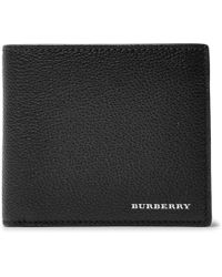 Burberry - Full-grain Leather Billfold Wallet - Lyst