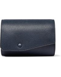 Valextra - Pebble-grain Leather Watch Roll - Lyst