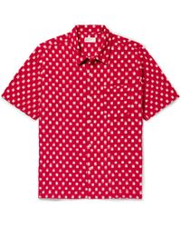 Universal Works - Ikat Cotton Shirt - Lyst