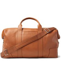 Shinola - Full-grain Leather Holdall - Lyst
