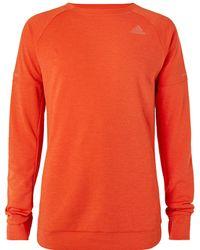 adidas Originals - Supernova Climalite Jersey Running Sweatshirt - Lyst