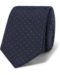 Paul Smith - 6cm Pin-dot Silk-faille Tie - Lyst