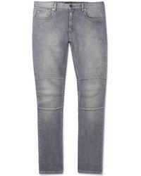 Belstaff - Tattenhall Skinny-fit Stretch-denim Jeans - Lyst