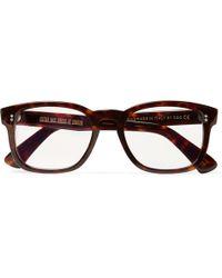 Kingsman - Cutler And Gross D-frame Tortoiseshell Acetate Optical Glasses - Lyst