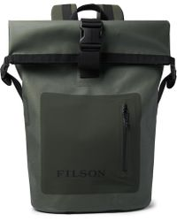 Filson - Dry Waxed-canvas Roll-top Backpack - Lyst