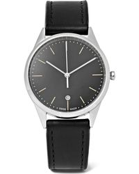 Uniform Wares - C36 Stainless Steel And Leather Watch - Lyst