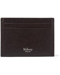 Mulberry - Full-grain Leather Cardholder - Lyst