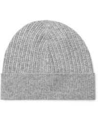Theory - Cashmere Beanie - Lyst