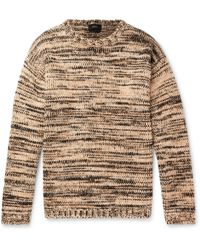 JOSEPH - Oversized Mélange Cotton And Wool-blend Sweater - Lyst 0e38bca5a