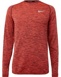 Nike - Dri-fit Knit Top - Lyst