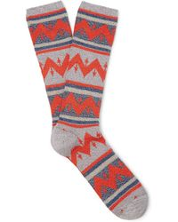 Anonymous Ism - Cotton-blend Socks - Lyst