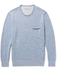 Outerknown | Buenas Noches Baby Alpaca And Organic Cotton-blend Sweater | Lyst