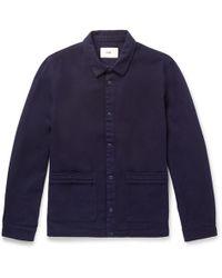 Folk - Horizon Cotton-twill Jacket - Lyst