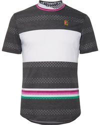 73342a5ba Lyst - Nike Nikecourt Zonal Cooling Roger Federer Advantage Dri-fit ...