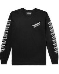 Neighborhood - Logo-print Cotton-jersey T-shirt - Lyst