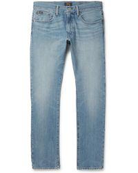 Polo Ralph Lauren - Andrews Slim-fit Stretch-denim Jeans - Lyst