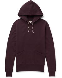 J.Crew | Wallace & Barnes Loopback Cotton-jersey Hoodie | Lyst